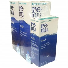 BAUSCH + LOMB renu® fresh™ Multi-Purpose Solution 355 ml x 2 + 60ml x 1