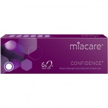 MIACARE SILICONE HYDROGEL ONE DAY COLOR CONTACT LENSES (DAILY)