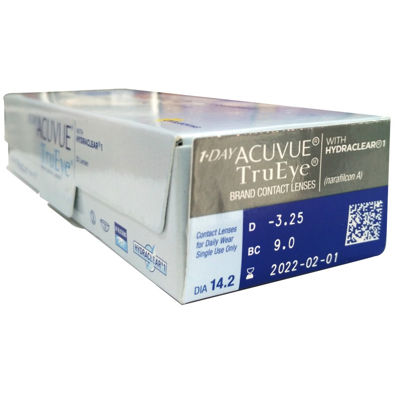 178499fe4038d 1 DAY ACUVUE® TruEye® Daily Disposable Contact Lenses - Ally Optical