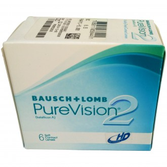 BAUSCH + LOMB PureVision2 HD Monthly Contact Lens