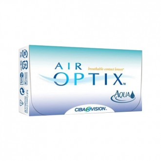 ALCON AIR OPTIX® AQUA Monthly Contact Lenses