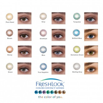 Alcon Freshlook 174 Colorblends 174 Monthly Color Contact Lenses