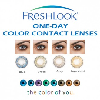 ALCON FRESHLOOK® ONE-DAY Color Daily Contact Lenses
