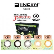BLINCON CLASSIC 3 Months Color Contact Lenses