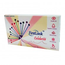 FIRSTLOOK® CELEBRITE 3 Months Color Contact Lenses