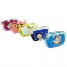 Cutie Cartoon Contact Lens Case Set with Holder and Mirror